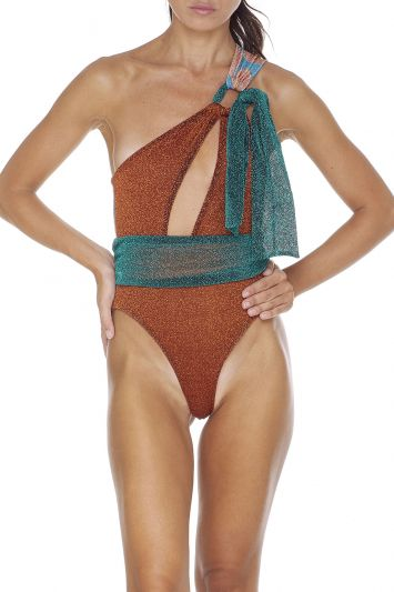 Monokini monospalla Melting Pot