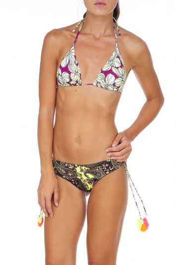 Bikini triangolo e slip fianco Melting Pot