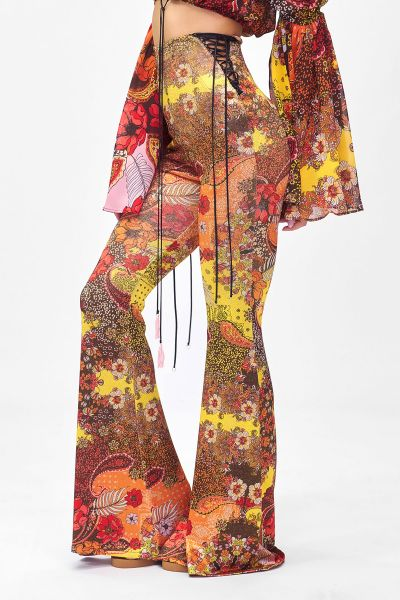 Pantalone a zampa Summer of love